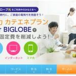 格安SIMと新電力がセットで安くなるBIGLOBEの『ビッグローブでんき』